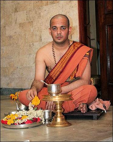 Brahmin priest